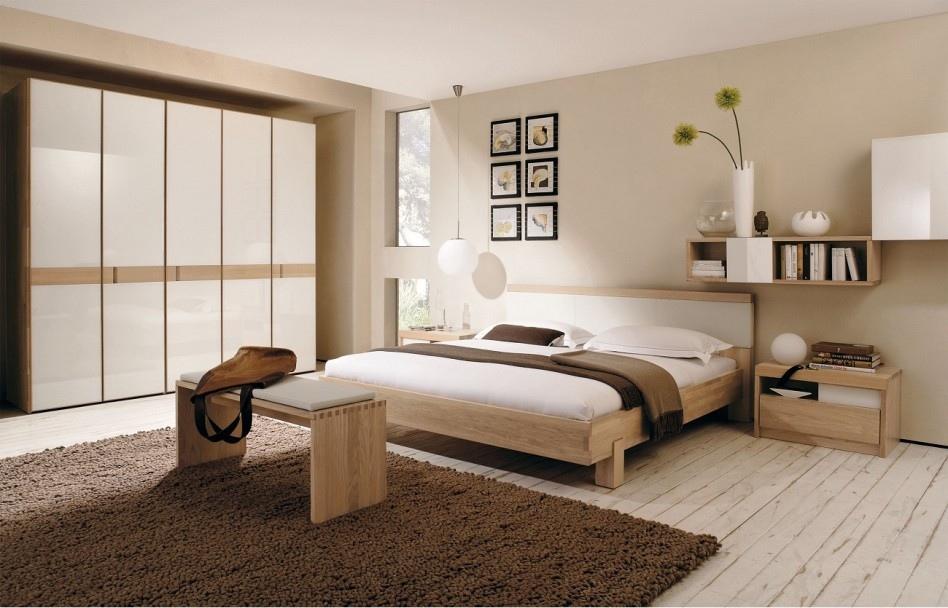 phòng ngủ tối giản theo phong cách Zen