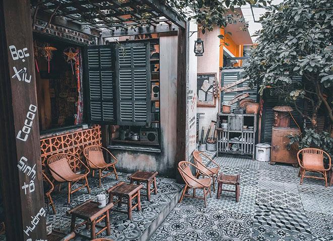 Quán cafe vintage