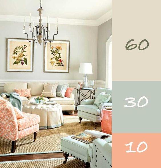 quy tắc phối màu trong nội thất 8