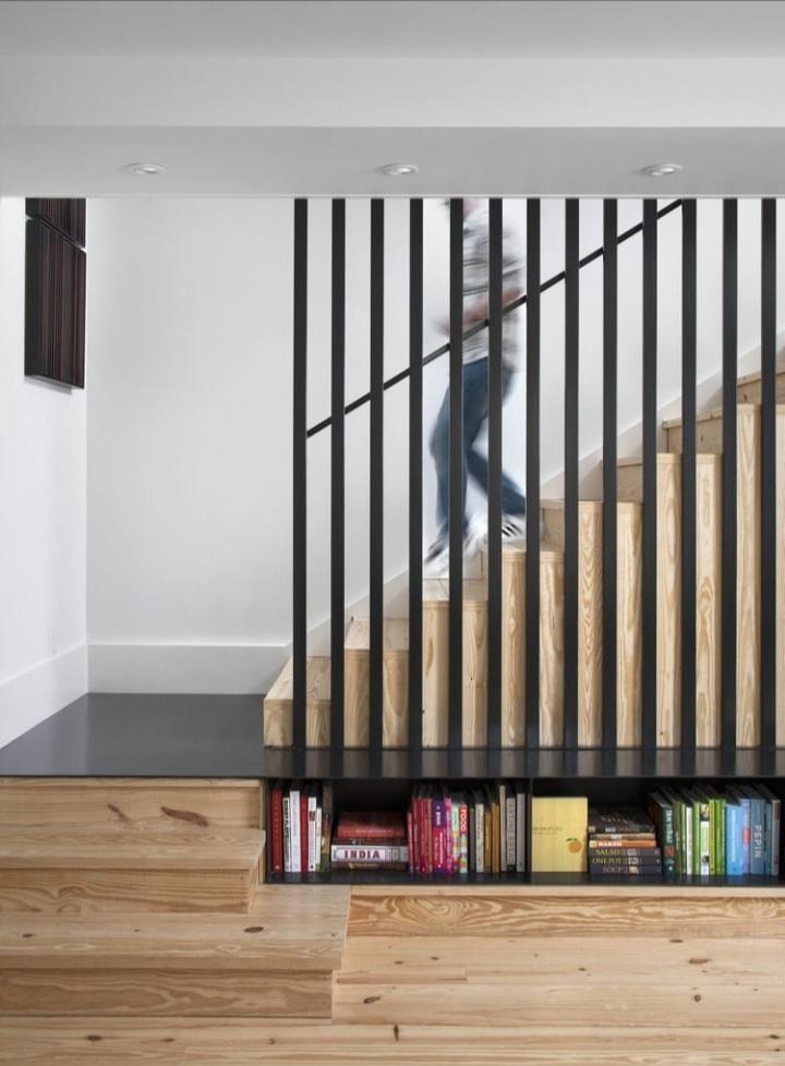 Tận dụng gầm cầu thang cho nhà phố