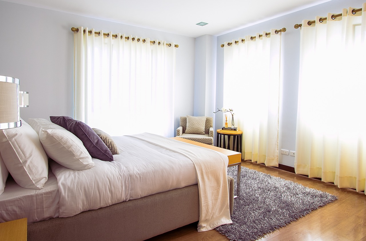 thảm lông phòng ngủ