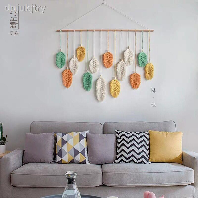 thảm treo tường hình chiếc lá