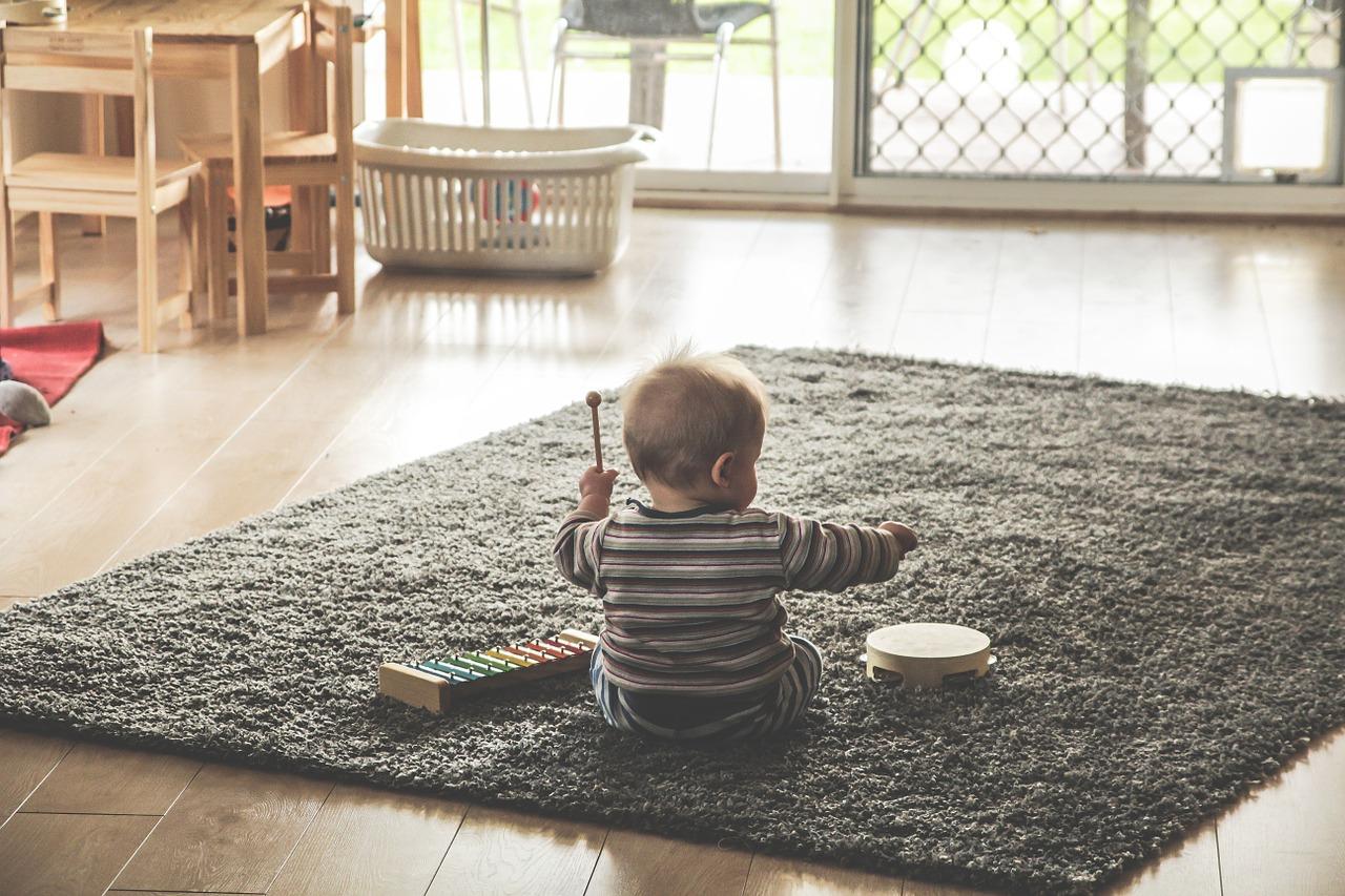 Thảm trải sàn cho bé vui chơi