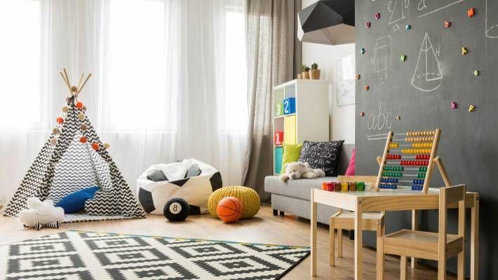 thiết kế khu vui chơi cho bé tại nhà 14