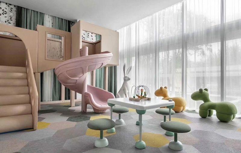 thiết kế khu vui chơi tại nhà cho bé 5