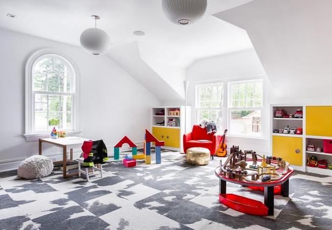 thiết kế khu vui chơi tại nhà cho bé 7