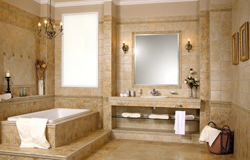thiết kế nhà tắm riêng biệt ấn tượng