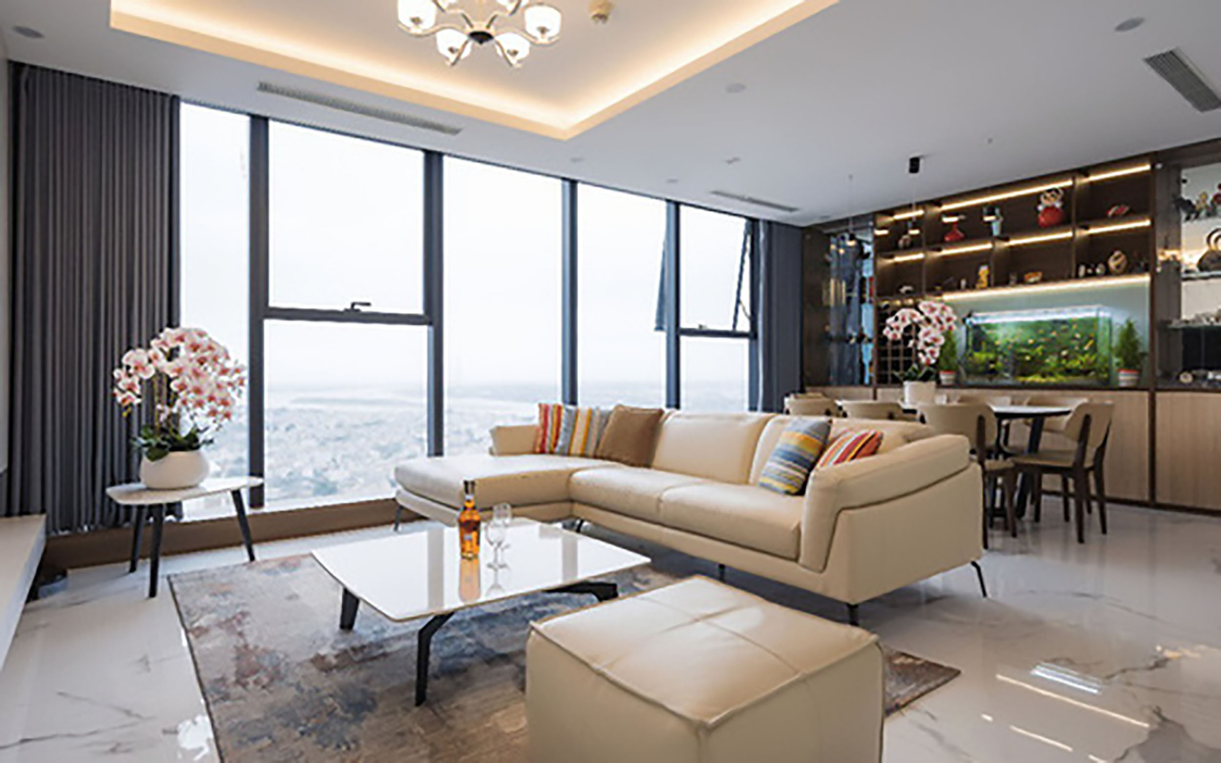 thiết kế nội thất căn hộ Duplex đẹp như mơ