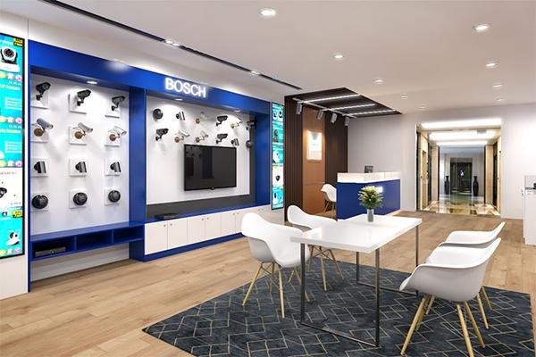Showroom tạo không gian trưng bày sản phẩm tiện lợi và đẹp mắt