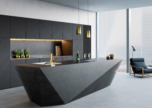 trang trí phòng bếp hiện đại với đảo bếp đẹp