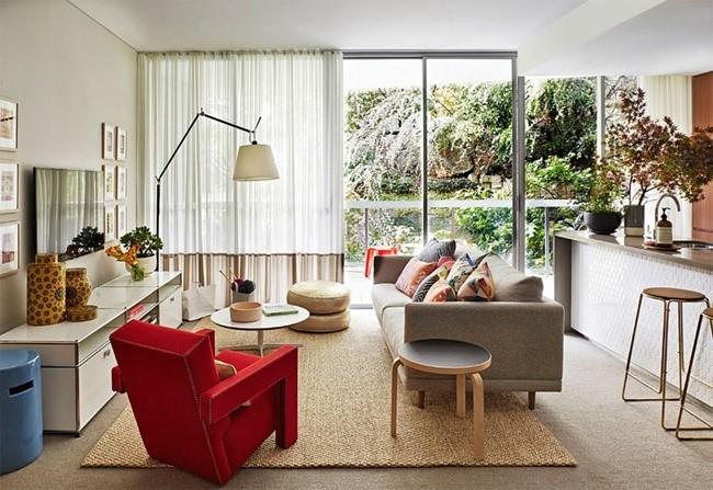 trang trí nội thất phòng khách 14
