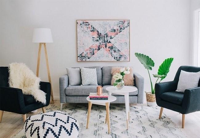 trang trí nội thất phòng khách 8