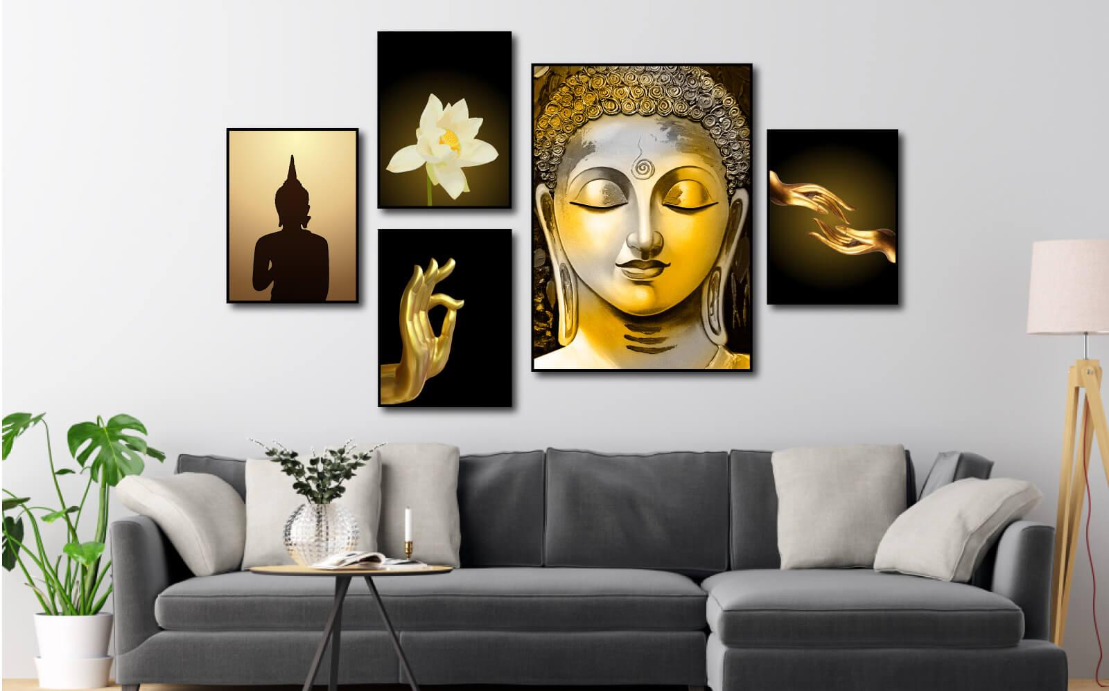 Tranh phong thuỷ về Phật pháp