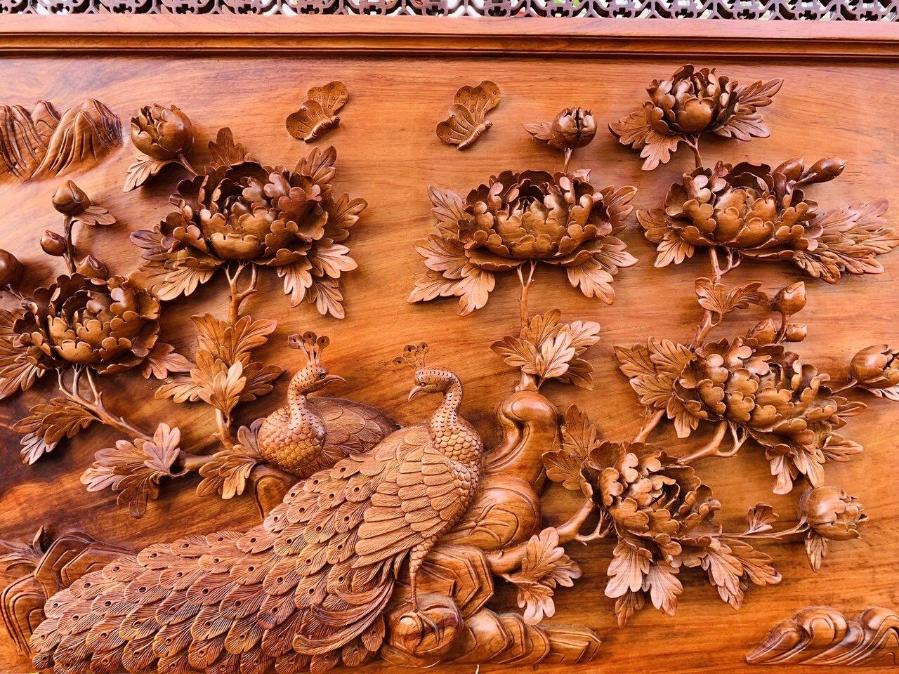 Tranh gỗ mỹ nghệ phong thuỷ