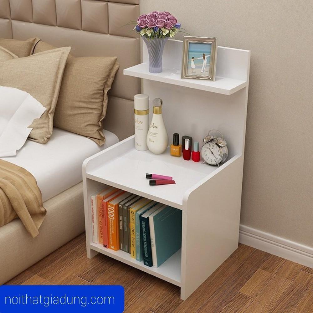 tab đầu giường đẹp phong cách tối giản