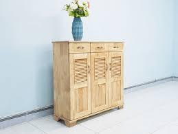 tủ giày 3 cánh bằng gỗ