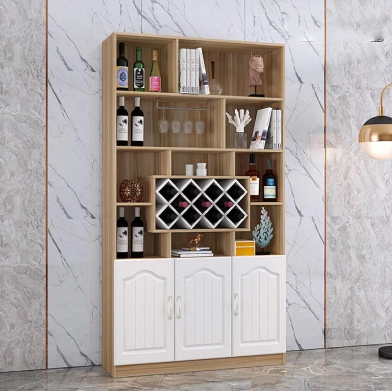 tủ rượu gỗ công nghiệp