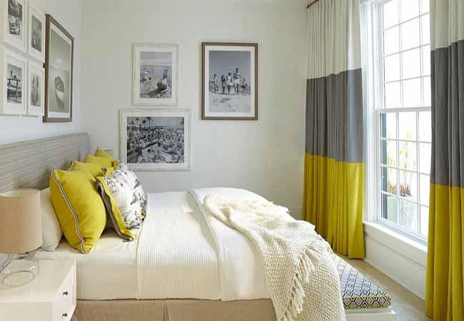 tự trang trí phòng ngủ với rèm cửa đẹp mắt