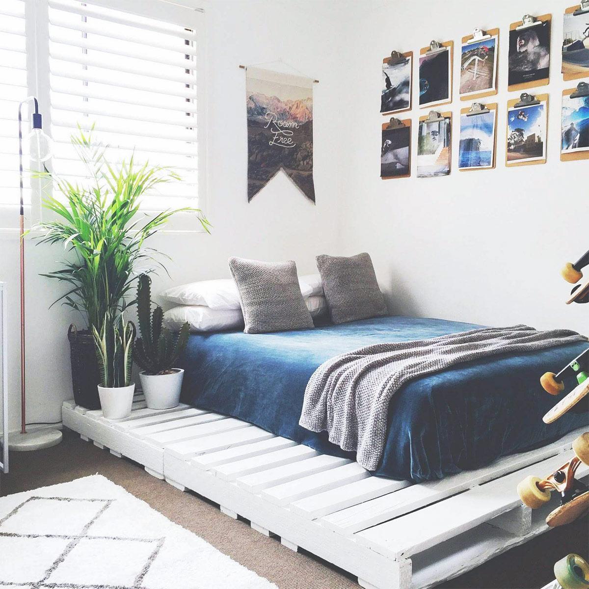 tự trang trí phòng ngủ của bạn bằng tranh ảnh