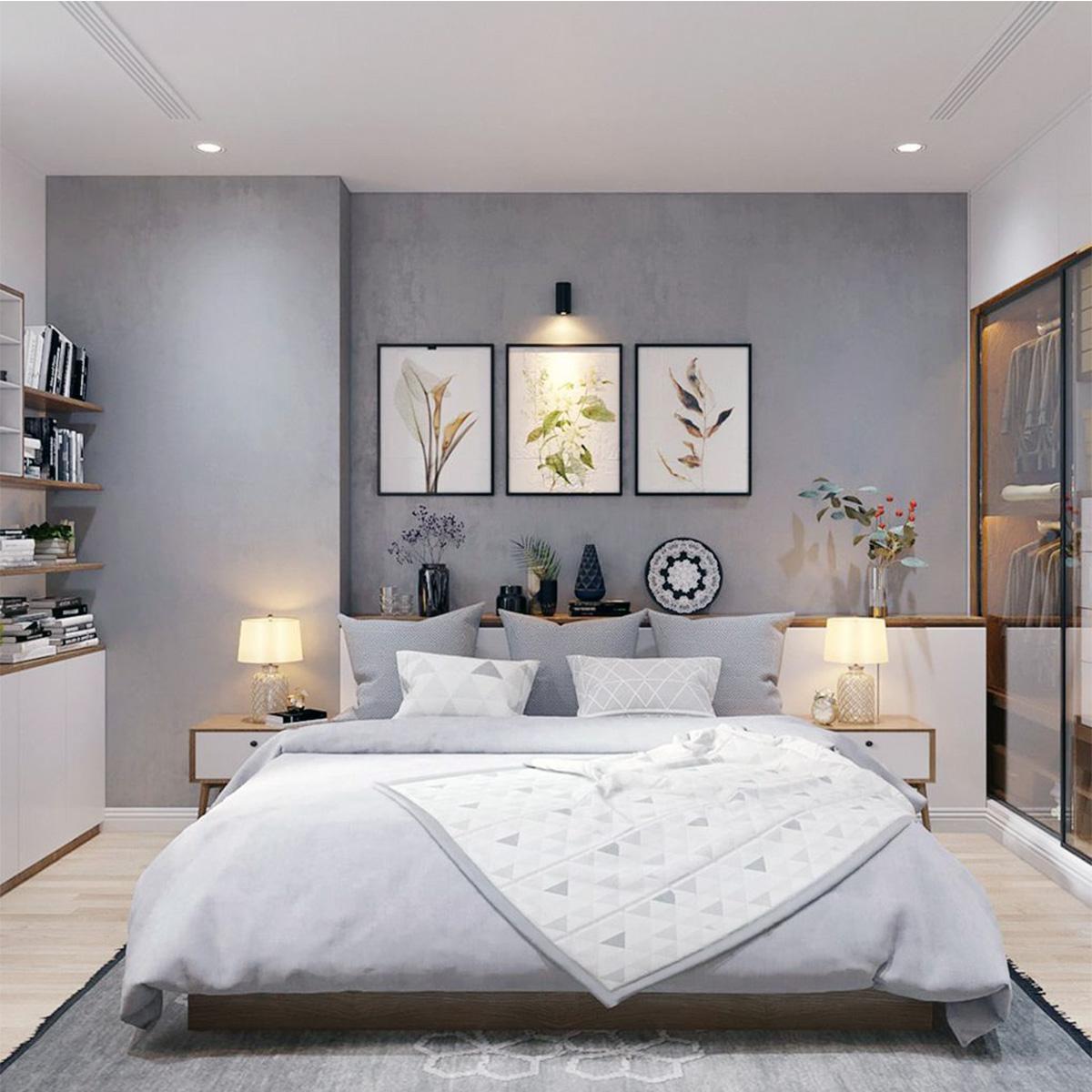 tự trang trí phòng ngủ bằng tranh ảnh