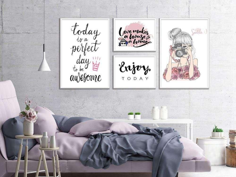 tự trang trí phòng ngủ bằng tranh ảnh nghệ thuật